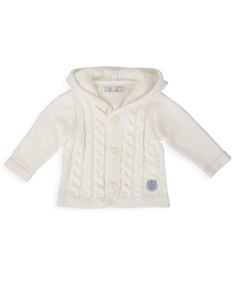671e264789e8 The Essential One - Baby Unisex Cable-Knit Cardigan - Navy Blue ...