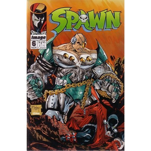 Spawn, #6 (Comic Book) (Payback, Part 1 of - Comic Spawn Art
