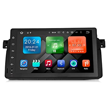 EBS Navegador GPS para Coche Quad Core HD de 9 Pulgadas - Negro