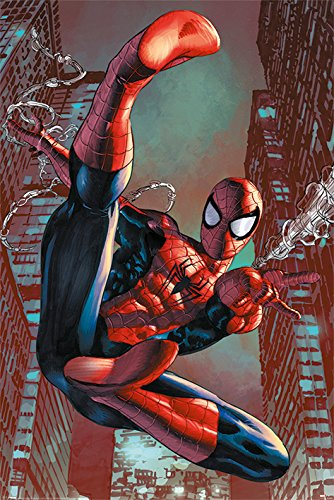 Spider-Man - Marvel Comics Poster / Print Web Slinging By Stop Online