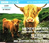 Mendelssohn:Scottish Symphony/Beethoven:Symphony No.1 BBC MUsic Vol. VI No. 9