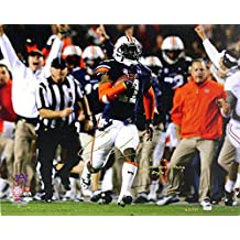 "Chris Davis Autographed/Signed Auburn Tigers 24x32 Wrapped Canvas with ""Kick Six - Game Over Bama - War Eagle!"" Inscription Limited Edition #11 of 111"
