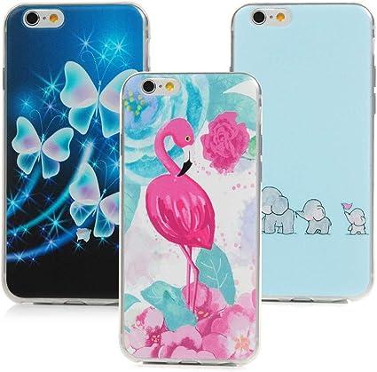 IDLEHOUR 3x Cover iPhone 6 iPhone 6S Custodia Trasparente in ...