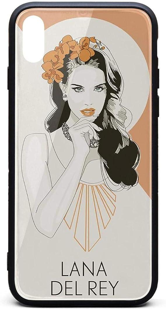 Amazon Com Lana Del Rey Art Iphone Xs Max Cases Mobile Slim Ultra Phone Case