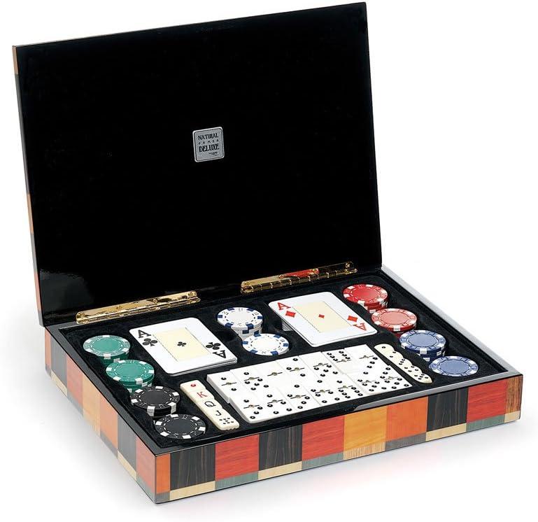 Cayro 2628 - Ng Delux Estuche Multijuegos (Pocker+Domino) (+14 Años): Amazon.es: Juguetes y juegos