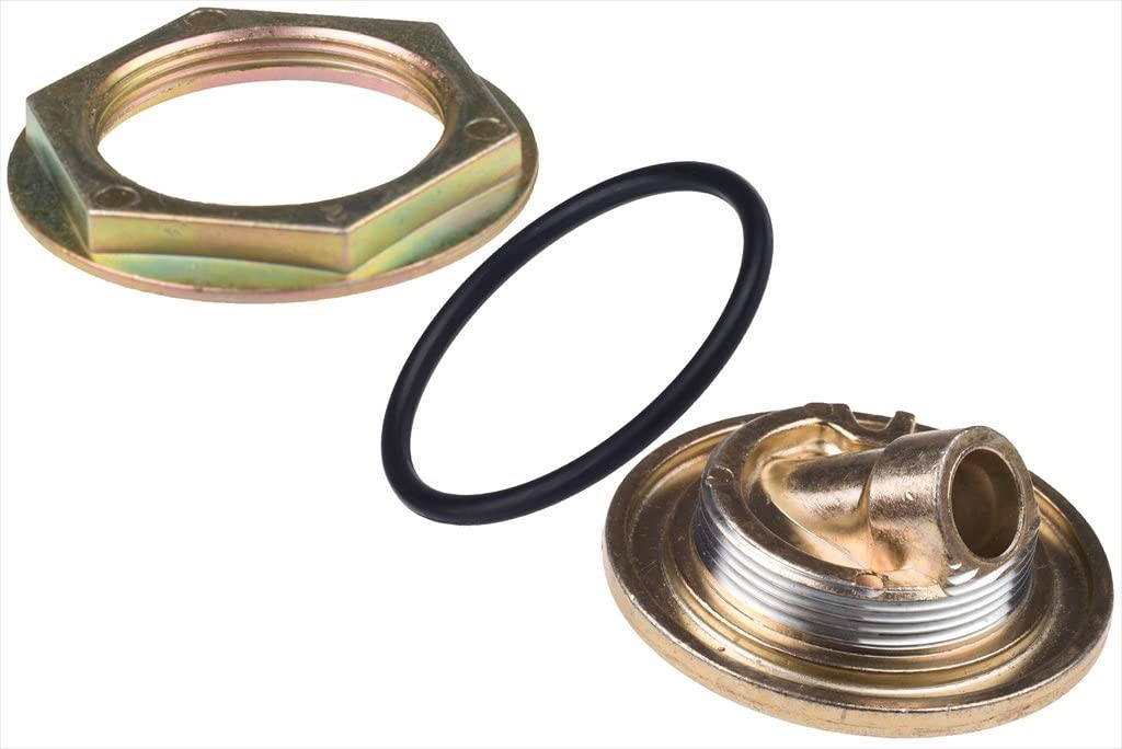 Ford 7.3L V8 Diesel Oil Pan Dipstick Tube Inner /& Outer Nut Adapter /& O-Ring OEM