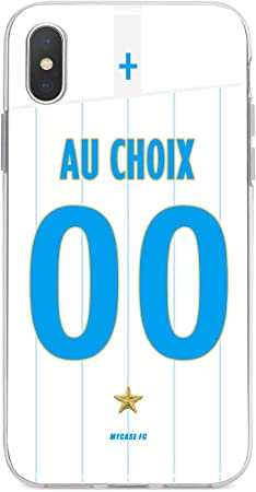 coque football personnalisable