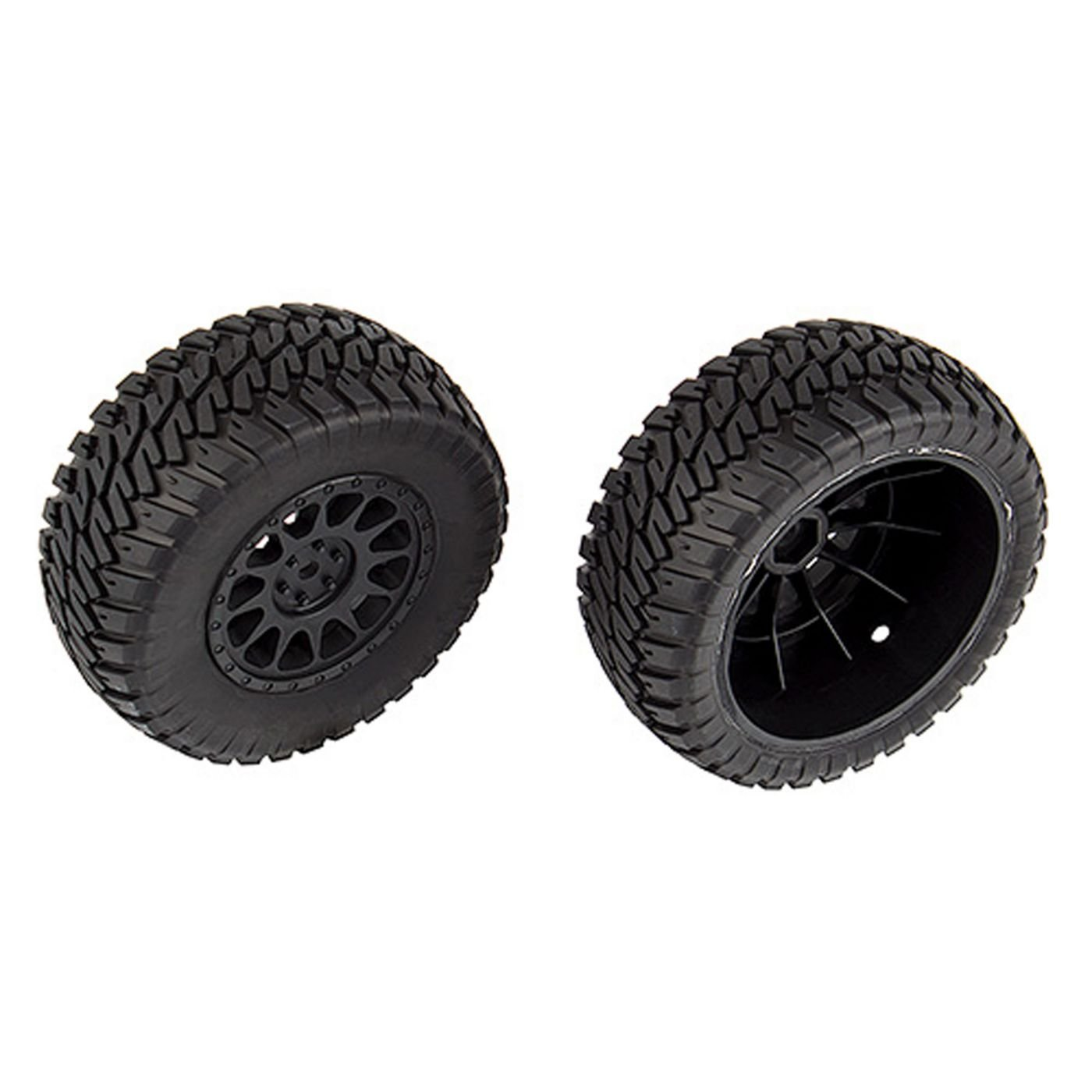 Team Associated Multi-terrain Tires and Method Wheels mounted by Team Associated (Image #1)