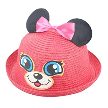 Sombreros y gorras Bebé, Sombrero de Paja Bebé niñas niño Gorro de ...