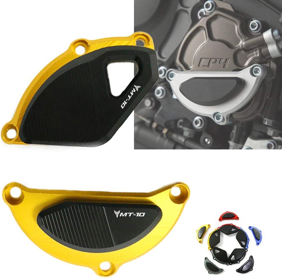 COPART Engine Guard Cover Frame Engine Stator Slider Case Protector for Yamaha MT10 MT-10 2016 2017 2018 2019 Black