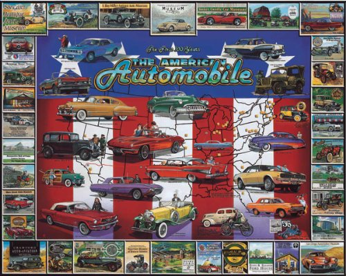 White Mountain Puzzles American Automobile History