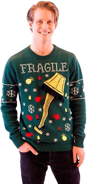 Ugly Christmas Sweater 2020 A Christmas Story Amazon.com: A Christmas Story Fragile Leg Lamp Light Up Adult