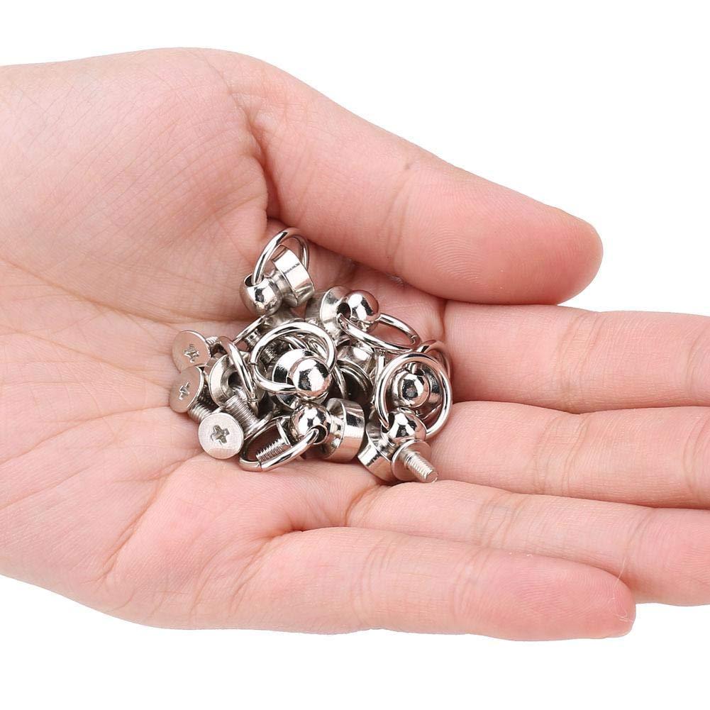 piezas de cabeza de anillo redondo de tornillo 10 piezas de pernos de remache de lat/ón