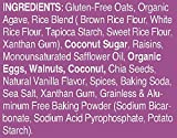 Pamela's Products Gluten Free Whenever Bars, Raisin Walnut Spice, 5 Count Box, 7.05-Ounce