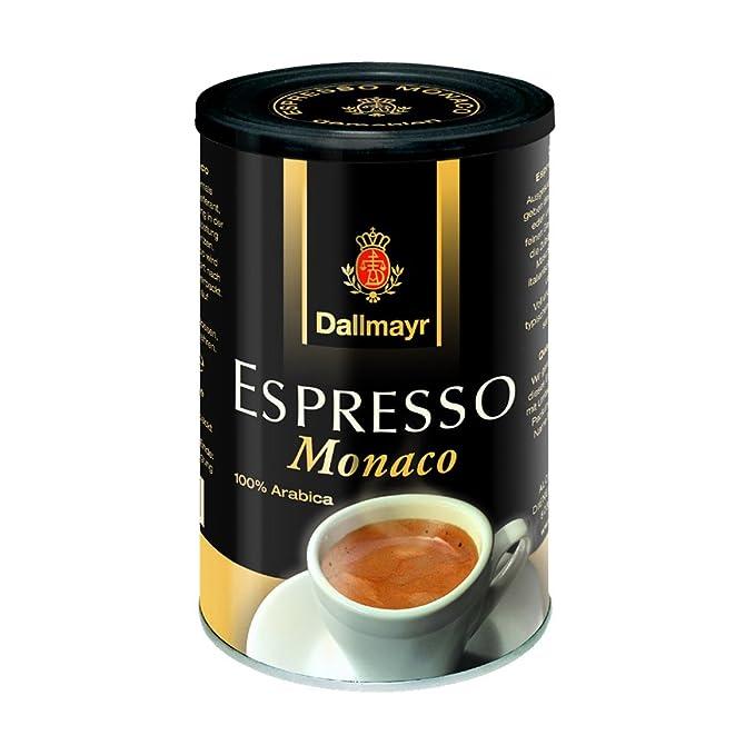 Dallmayr Café expreso Monaco, gemahlen, 200 g)