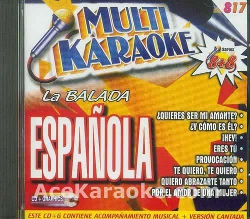 OKE-0817 MULTI KARAOKE CDG LA BALADA ESPANOLA by Various (0100-01-01)