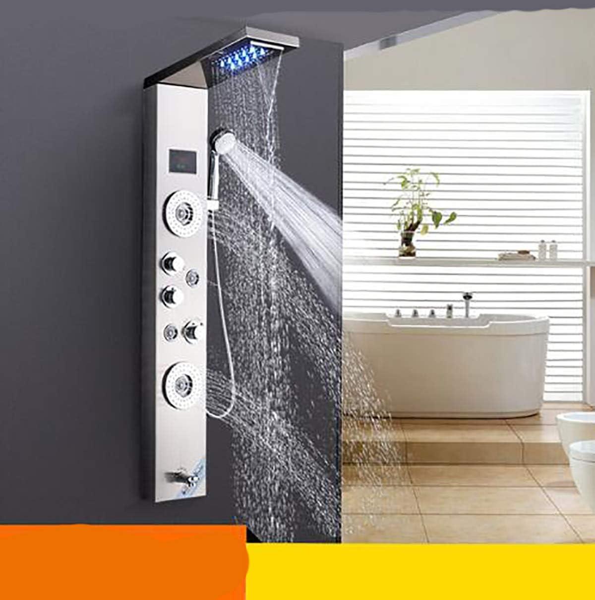 Shower System Ducha de baño Grifo Masaje Chorros Bañera Ducha ...