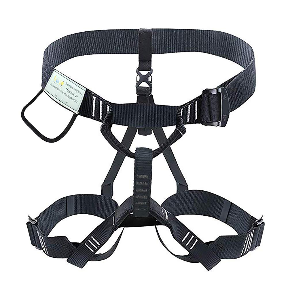 Heejo Climbing Harness Professional Mountaineering Rock Climbing Harness,Rappelling Safety Harness Work Safety Belt