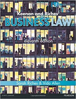 Keenan and Riches' Business Law Premium Pack by Ms Sarah Riches (2013-07-09)