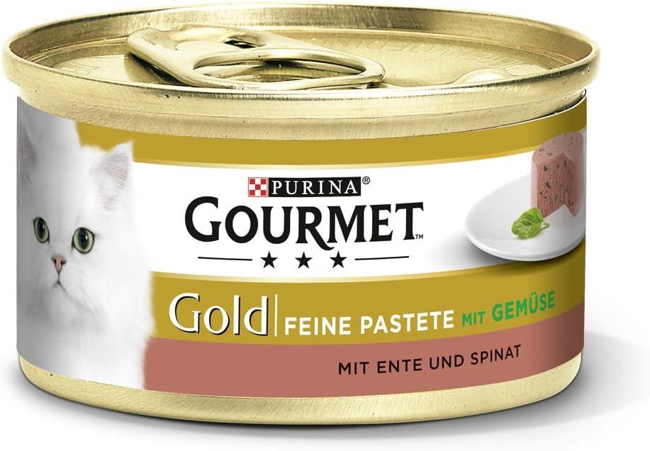 Gourmet Purina Gold - Pasta Fina para Gatos, alimento húmedo (12 ...