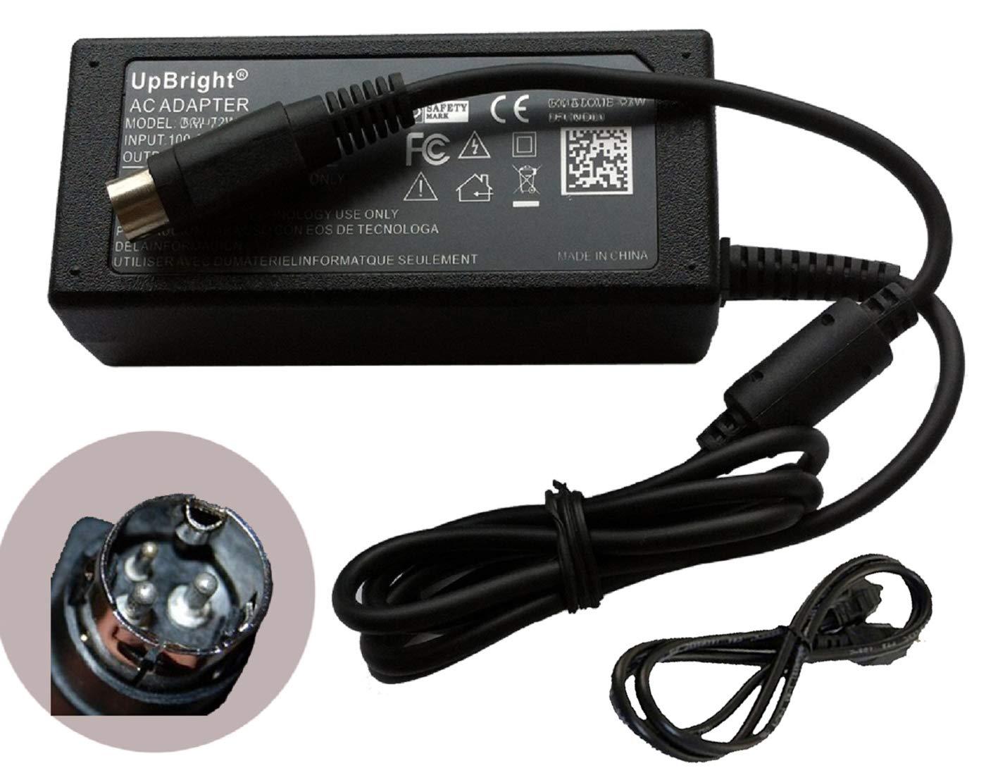 UpBright 3-Pin AC/DC Adapter Replacement For Samsung Bixolon PR10508 SRP-370 SRP-372 Printer SAD06024-UV EPSON ESC POS PRP-085IIIT PRP-250 ECP-500 N&P NRP-2000 NRP-1800 SAM4s ELLIX 35II 45II GIANT-100
