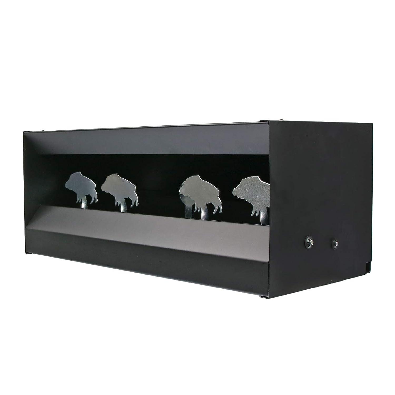 OpTacs Kugelfangkasten Wildschweine Pendelkasten Kugelfang 4+1 Ziele f/ür Luftgewehr