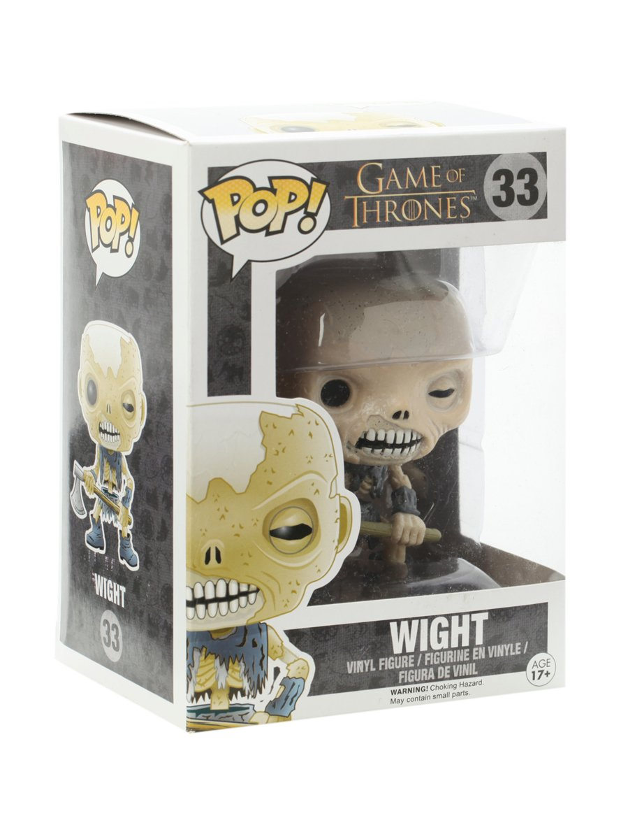 Funko POP Game of Thrones: Wight Action Figure