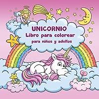 Unicornio Libro para colorear para niños y adultos + BONO: Plantillas gratis para dibujar unicornios (PDF para imprimir)