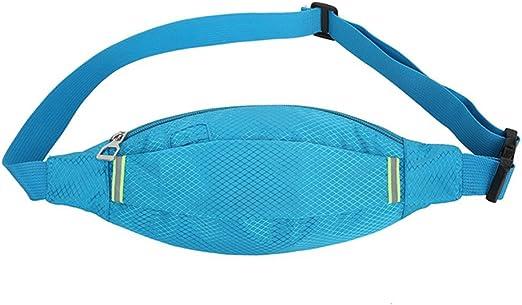 Cysincos Anny Pack Bolsillos Nylon Cintura Bolsa para Mujer Hombre Zapatillas de Entrenamiento para Yoga Gimnasio Entrenamiento Deporte y Viaje Running: Amazon.es: Hogar
