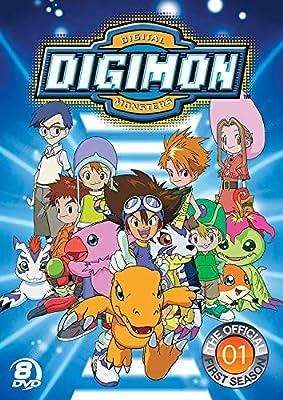 Official Digimon Adventure: Complete First Season Reino Unido DVD: Amazon.es: Cine y Series TV