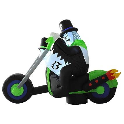 Amazon.com: Inflable Navidad 6FT Ghost Rider XMas Año Nuevo ...