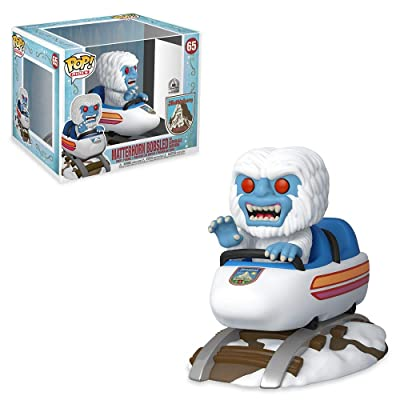 Funko Pop! Rides: Matterhorn Bobsled and Abominable Snowman Exclusive Vinyl Figure #65: Toys & Games