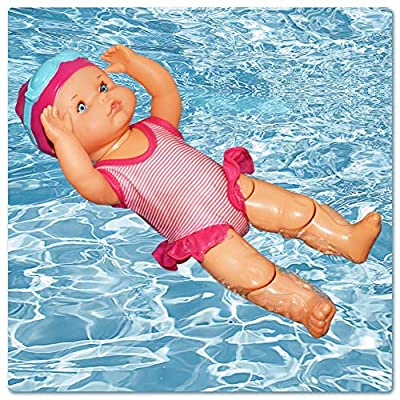 astolily Swimming Doll, Art Cute Dolls, Mini Ornaments, Non-Silicone Inedible, Mini Decorations for Home Decorations Holiday Birthday Gifts: Home & Kitchen