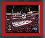 United Center Chicago Blackhawks NHL Stadium Photo (Size: 22.5'' x 26.5'') Framed