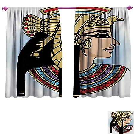 Cortinas egipcias Decorativas Hechas a Mano con diseño de ...