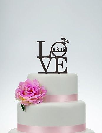 Decoración para tarta de boda, diseño de piratas, decoración ...