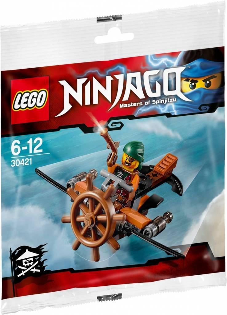 lego ninjago 30421 jeu de construction pirate avion sachet polybag