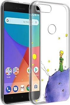 YOEDGE Funda Xiaomi Mi A1 Ultra Slim Cárcasa Silicona Transparente ...