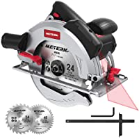 "Meterk 15Amp 7-1/2"" Circular Saw with Laser Guide Deals"