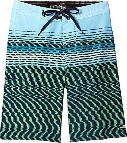 O'Neill Big Boys' Hyperfreak Wavelength Boardshort, Lime, (Oneill Wave)