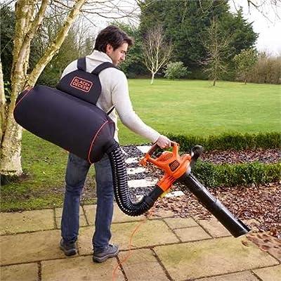 Black&Decker GW3030BP-QS GW3030BP-QS-Aspirador, soplador, triturador de Mochila, 3000 W: Amazon.es: Bricolaje y herramientas