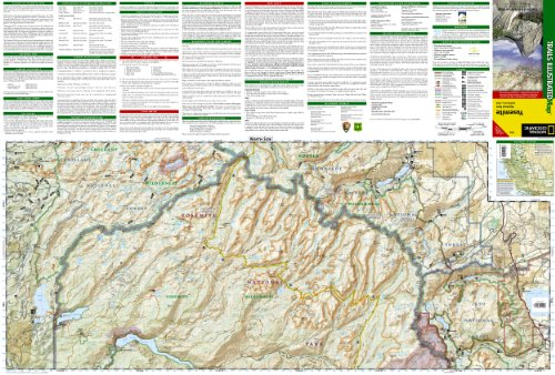 Yosemite National Park (National Geographic Trails Illustrated Map)