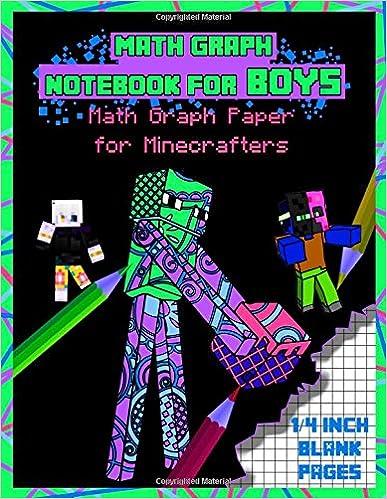b967a8047bc7 Amazon.com: Math Graph Notebook For Boys: Math Graph Paper for ...