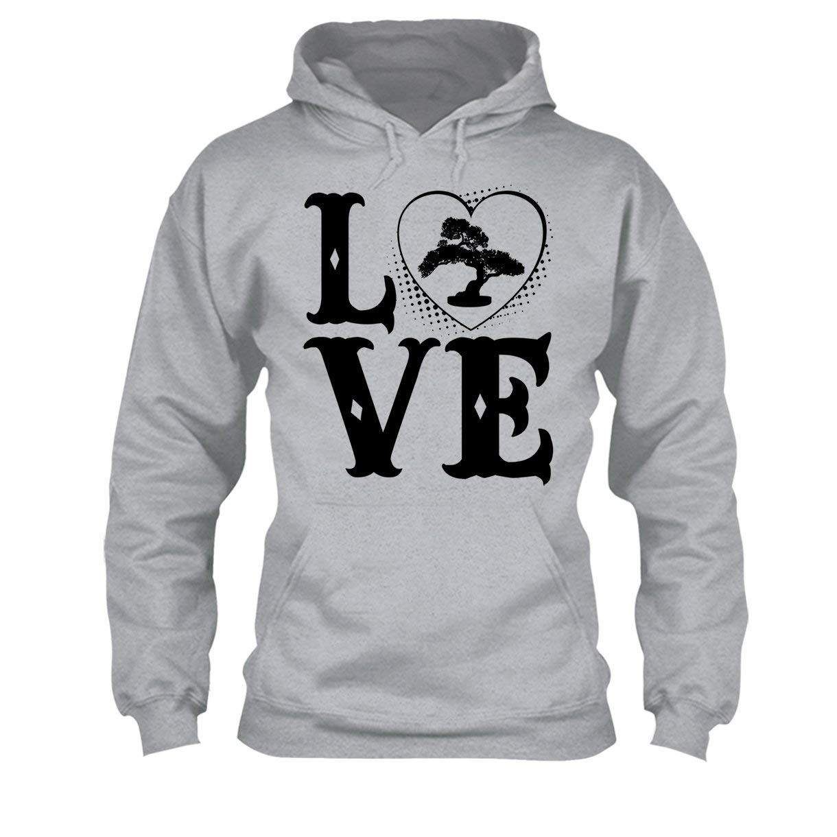 Love Bonsai Tree Shirt Mens Shirt Tee Shirt