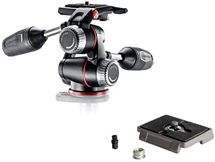 Manfrotto MHXPRO-3W X-PRO 3-Way Head w/Bonus Manfrotto 200PL Quick Release  Plate
