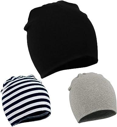 0-12 Months Zando Toddler Beanies Boys Infant Baby Hats Newborn Kids Girls Cute Beanie Caps Black Small