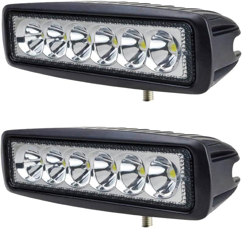 FARO LAMPADA SUPPLEMENTARE PROFONDITA AUTO FUORISTRADA 12V 18 LED 54W 6000K IP68