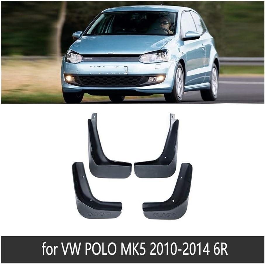 For Volkswagen VW Polo 6R 6C 2010~2017 Car Mudguards Fender Front Rear Mud Flaps Splash Guards Paneling Mudflaps 4Pcs//Set Mudguard Mud Flaps Size : Fit Polo 6C 2015-2017
