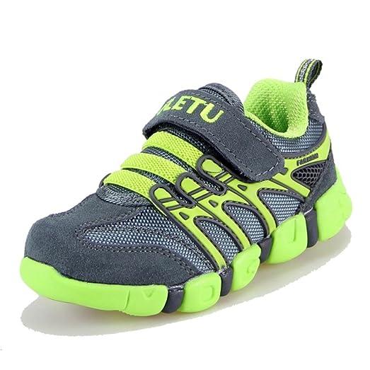 Moonwalker Zapatillas de Deportes Niños Unisex (EUR 36,Gris)