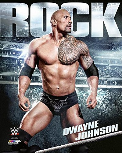 """WWE The Rock Composite Photo (Size: 8"""" x 10"""")"""